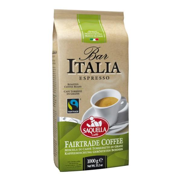 Saquella Bar Italia Fairtrade Espresso 1000g